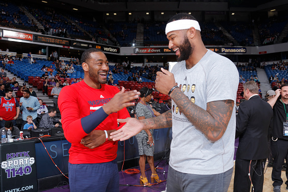 The Perfect Match: Will John Wall & DeMarcus Cousins Ever Play Together in the NBA?