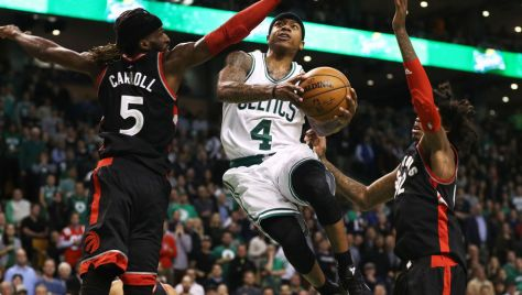 Toronto Raptors v Boston Celtics