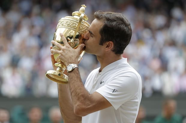 Federer's Dominant Path to a Record 8th Wimbledon Title Overshadows Other Wimbledon Victors