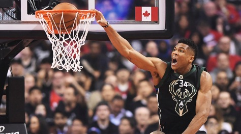 Bucks Raptors Basketball