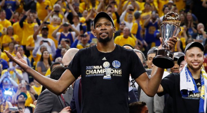 Whether you Like it or Not: Kevin Durant will be your 2018 NBA MVP