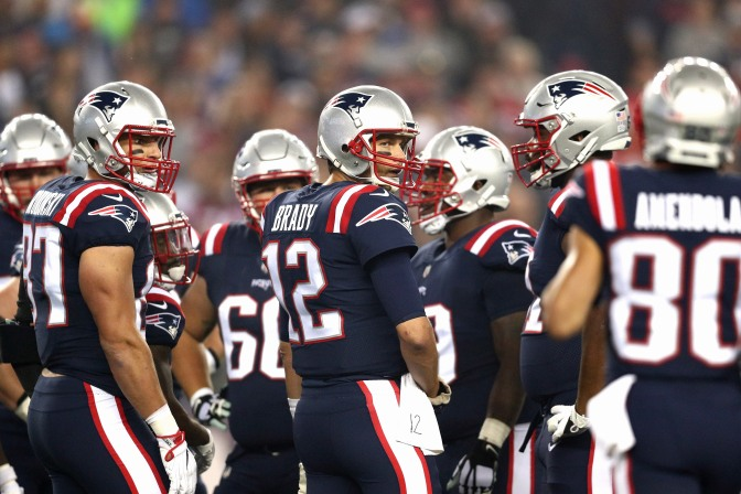 Defending Champs Watch: Pats Win the Super Bowl Rematch