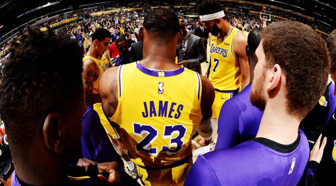 LeBron's Near Triple Double not Enough in Lakers Debut